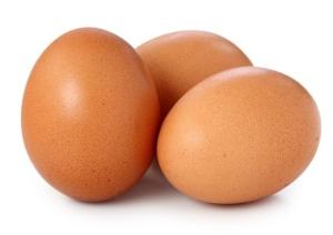 Egg! Like a birds egg!
